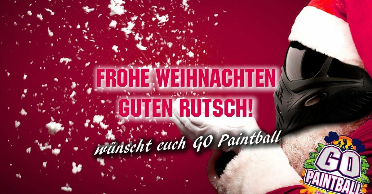 Wir Wünschen Euch Frohe Weihnachten Und Einen Guten Rutsch.Frohe Weihnachten Guten Rutsch Go Paintball Adventure Park