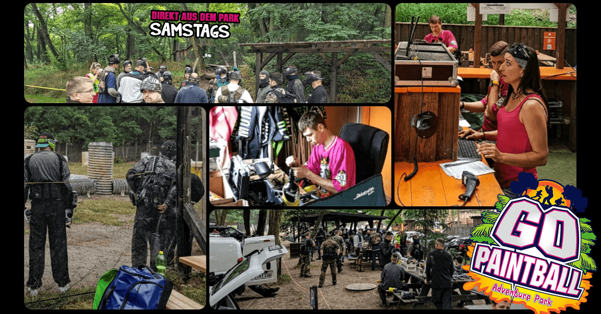 GO PAINTBALL ADVENTURE PARK: Direkt aus dem Park
