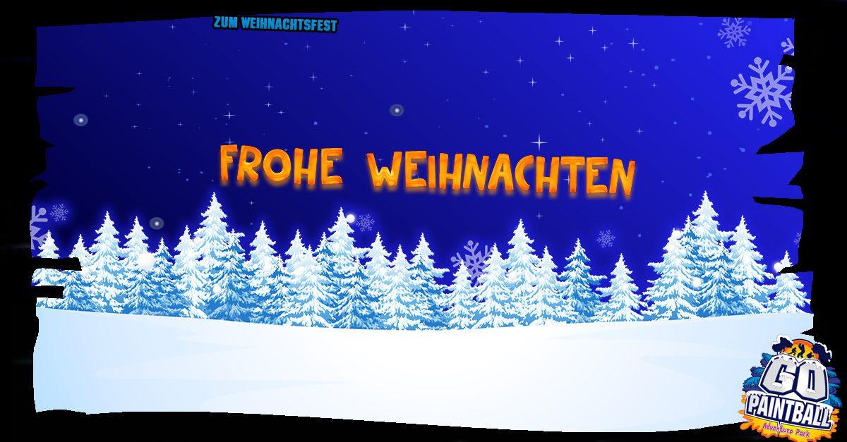 Frohe Weihnachten Wünschen Euch.Wir Wünschen Euch Frohe Weihnachten Go Paintball Adventure Park
