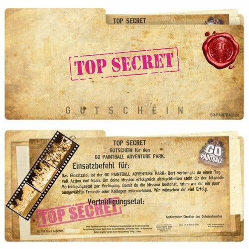 Secret.De Gutschein